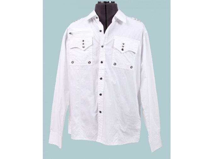 SOUTH POLE pánská košile bílá