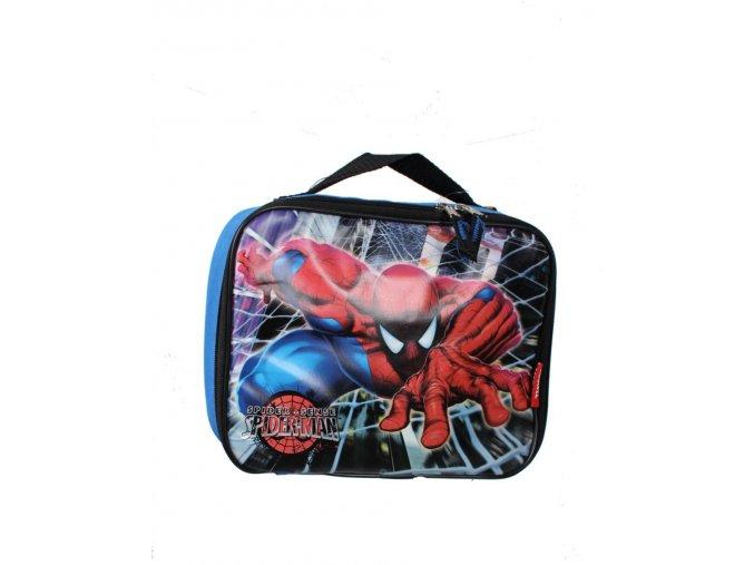 MARVEL dětský kufřík/batůžek s obrázkem Spider-mana modrý