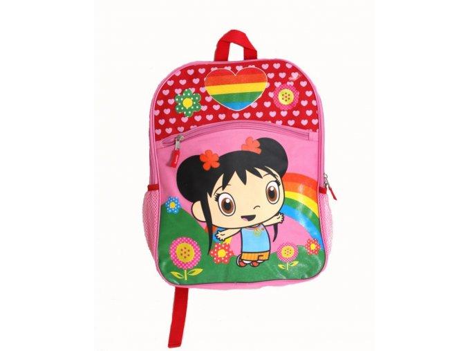 NICKELODEON dětský/dívčí batoh růžový s potiskem Dory průzkumnice