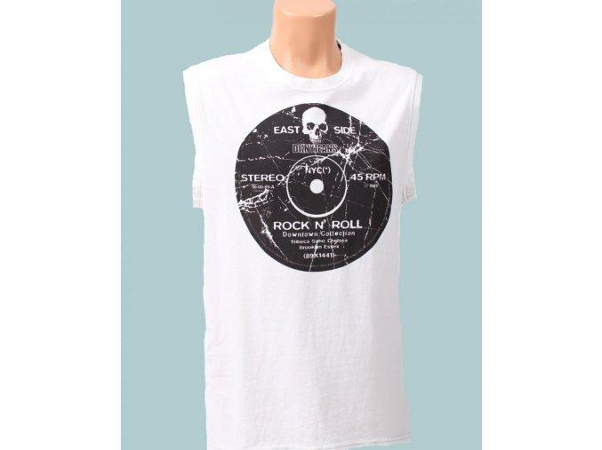 DKNY pánské tričko bílé bez rukávů