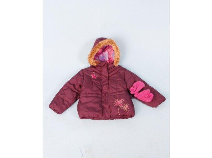 DARON FASHIONS dětská zimní bunda s rukavicemi