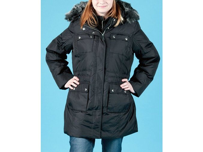 MICHAEL KORS dámská péřová bunda s kapucí