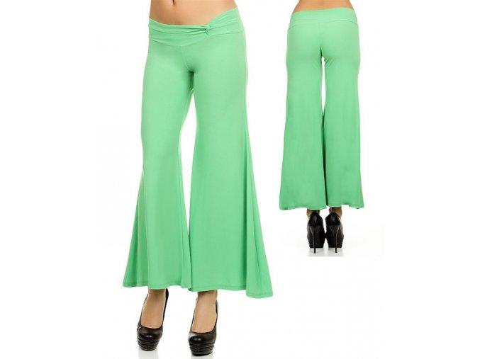 Backstage dámské kalhoty světle zelené