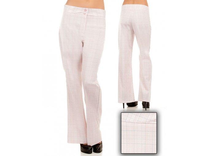 Tomorrow AF / S dámské kalhoty růžové kárové