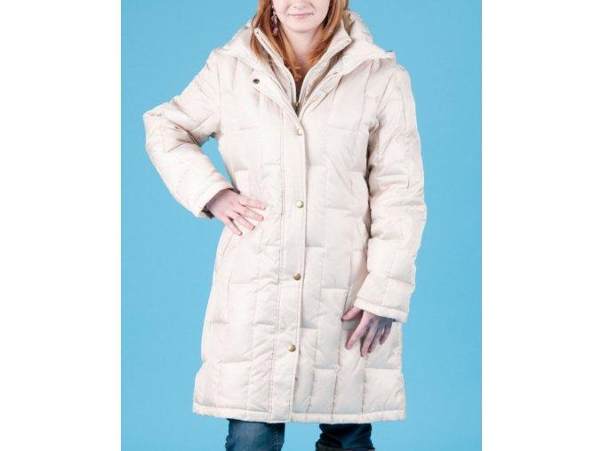 NAUTICA dámská bunda béžová s odepínací kapucí