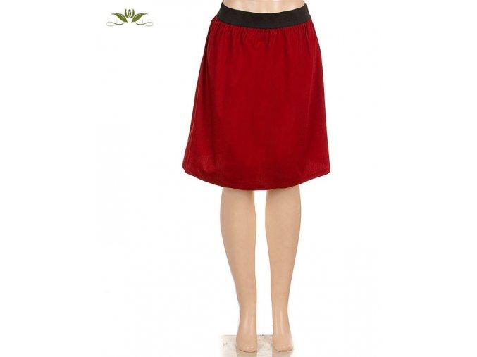 DORI COLLECTION dámská sukně červená