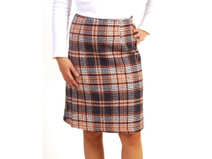 Available dámská sukně károvaná