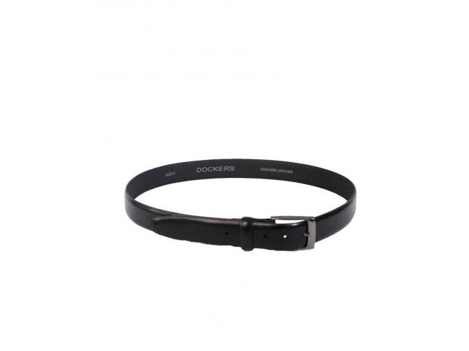 Dockers pánský kožený pásek černý