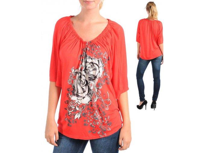 BUZZ dámské tričko červené