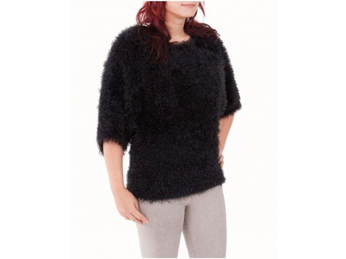 G BY GRACIA dámský svetr pletený černý