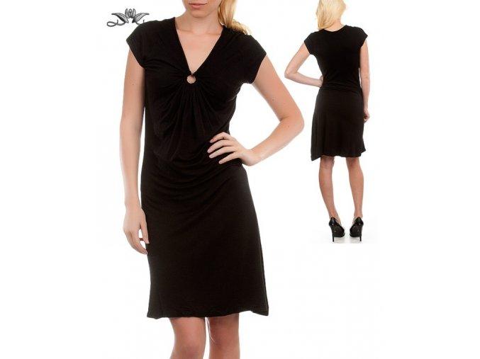Papaya dámské šaty černé