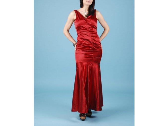 XSCAPE dámské dlouhé červené plesové šaty