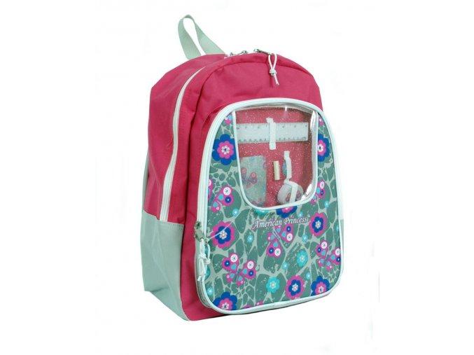 AMERICAN PRINCESS dětský školní batoh růžový