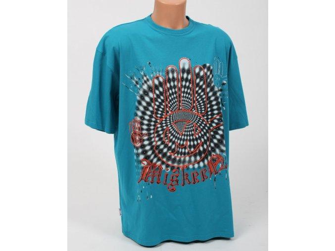 Miskeen pánské tričko tyrkysové s logem