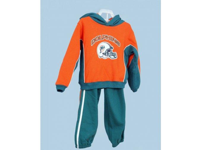 NFL dětská tepláková souprava oranžovozelená