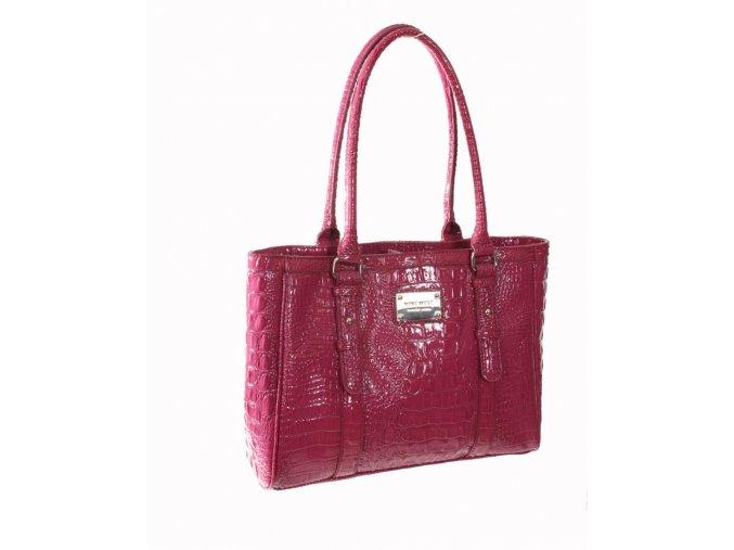 NINE WEST dámská lesklá kabelka IRIS fialová