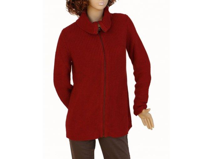 GAP MATERNITY těhotenský svetr tmavě červený