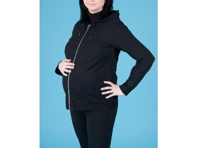 GAP MATERNITY těhotenská mikina černá