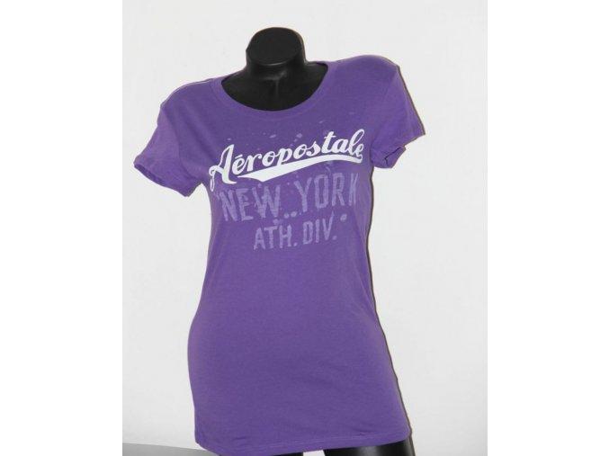 Aéropostale dámské tričko fialové