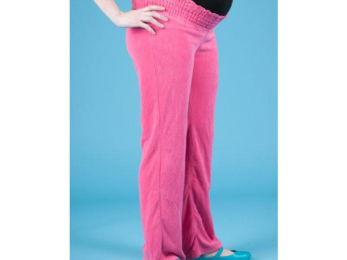 OLD NAVY těhotenské sportovní kalhoty růžové
