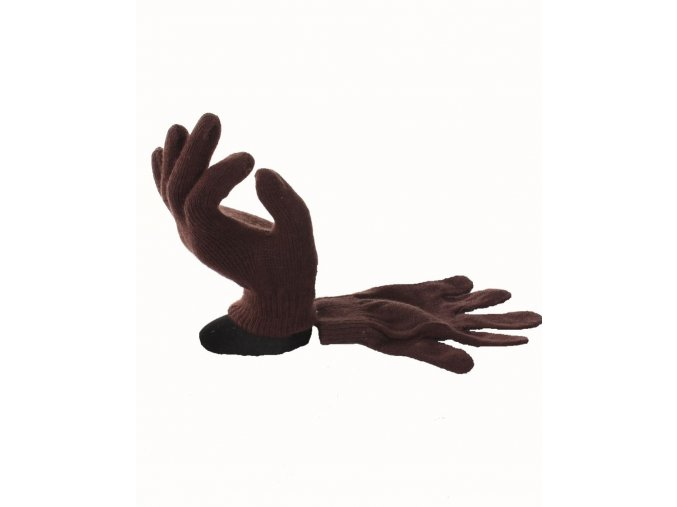 FADED GLORY dětské rukavice hnědé