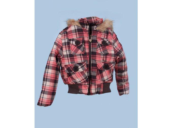 DOLLHOUSE dětská zimní bunda károvaná