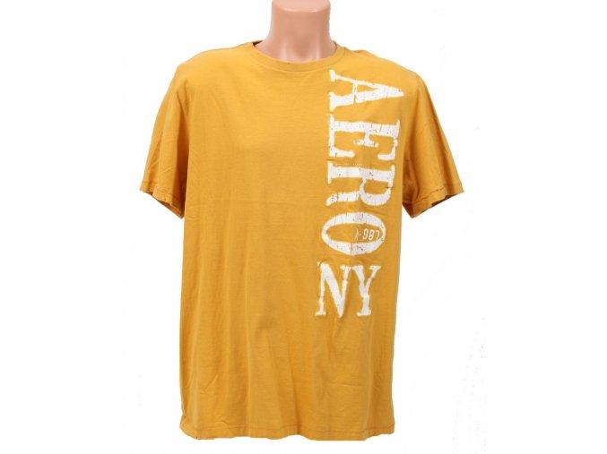 Aéropostale pánské tričko žluté