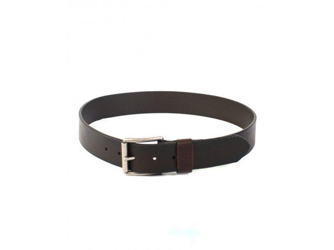Tommy Hilfiger pánský kožený pásek hnědý