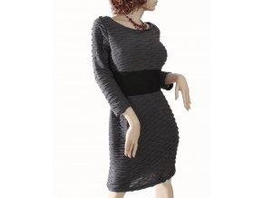 SANDRA DARREN dámské šaty šedé
