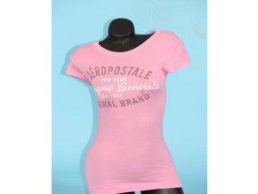 Aéropostale dámské tričko růžové