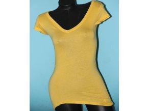 Aéropostale dámské tričko hořčicově žluté bez nápisu