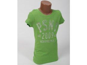 Aéropostale dětské tričko zelené