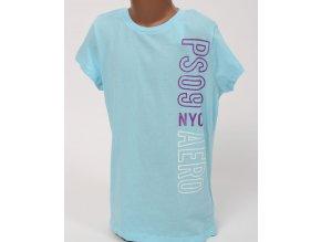 Aéropostale dětské tričko světle modré