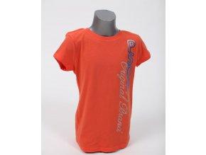 Aéropostale dětské tričko korálové