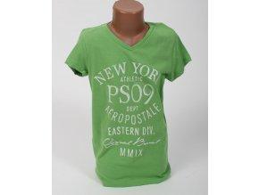 Aéropostale dětské tričko světle zelené