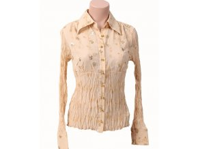 KAELYN-MAX dámská halenka/košile béžová
