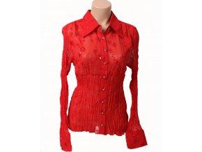 KAELYN-MAX dámská halenka/košile červená