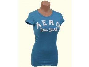 Aéropostale dámské tričko modré Aero New York
