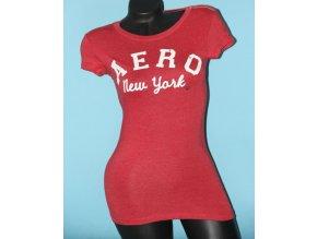 Aéropostale dámské tričko červené
