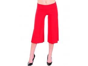 YABES U.S.A. dámská kalhotová sukně červená