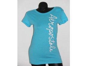 Aéropostale dámské tričko tyrkysové