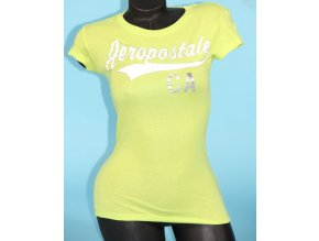 Aéropostale dámské tričko neonové