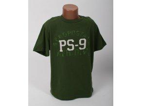 Aéropostale dětské tričko tmavě zelené