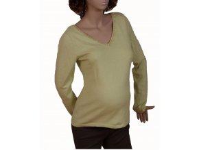 GAP MATERNITY těhotenský svetr světle zelený