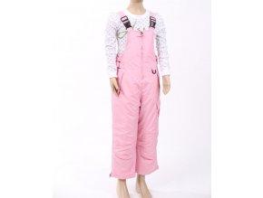 ARCTIC QUEST dětské/dívčí kalhoty zateplené růžové