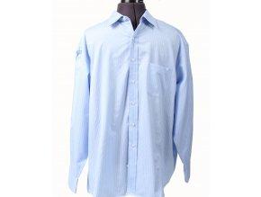 TASSO ELBA pánská košile světle modrá pruhovaná