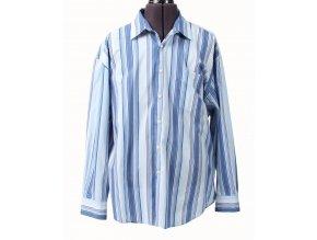 Nautica pánská košile bílomodrá pruhovaná