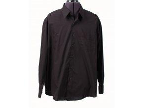 JOHN ASHFORD pánská košile černá