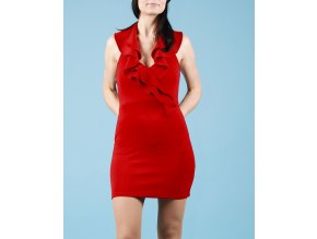 PEACHES N CREAM dámské šaty červené
