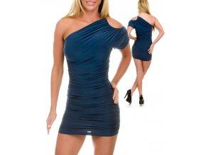 JFANY D USA dámské šaty zelenomodré